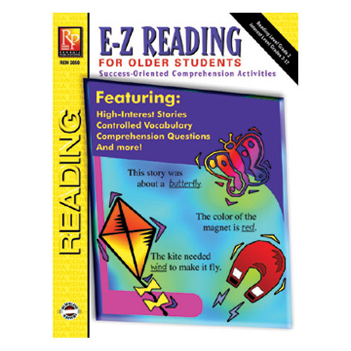 Remedia Publications E-z Reading for Older Students Book