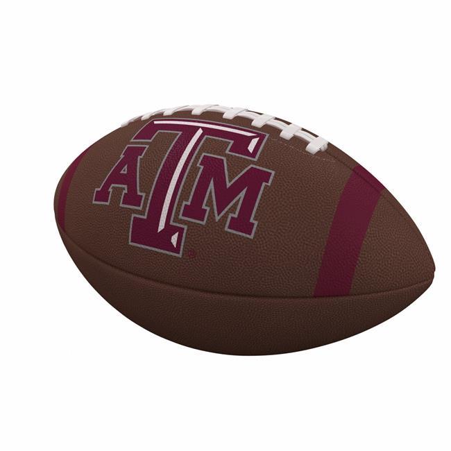 Texas A&M Team Stripe Official-Size Composite Football