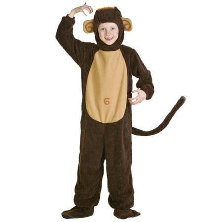 Child Monkey Costume - Plush Monkey Costume
