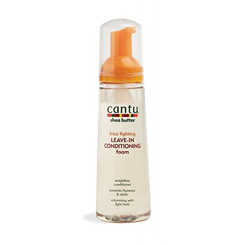Cantu Shea Butter Leave In Conditioning Foam 8.4oz by Cantu