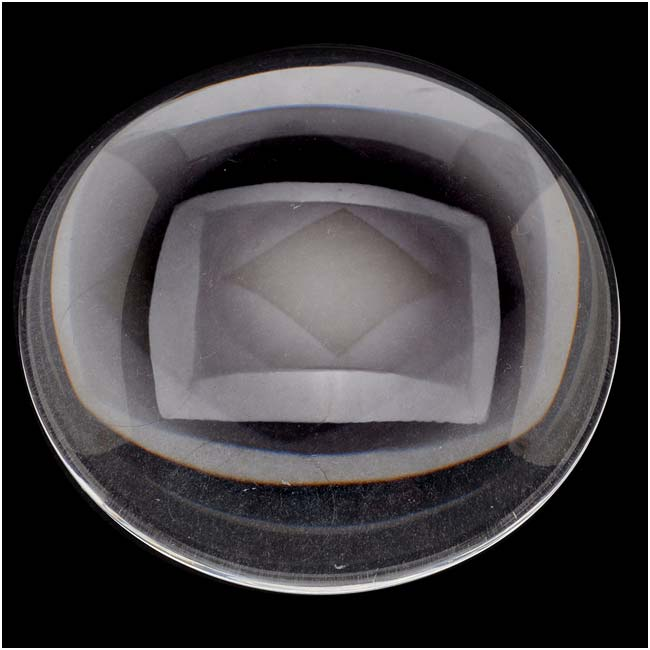 Clear Glass Cabochon Round Dome Crystal Magnify 50mm (1)