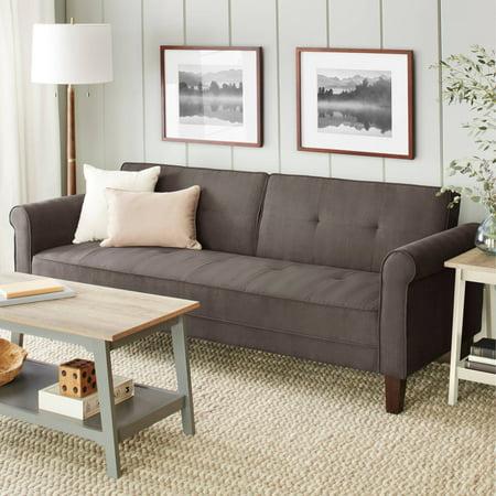 10 Spring Street Ashton Microfiber Sofa Bed