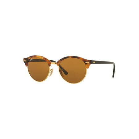 51MM Mirrored Round Metal Sunglasses