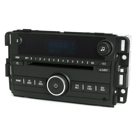 Chevy Impala 2006-08 Monte Carlo AM FM CD Aux Input Radio 15951757 Unlocked U1C - Refurbished (1985 Chevy Monte Carlo Parts)