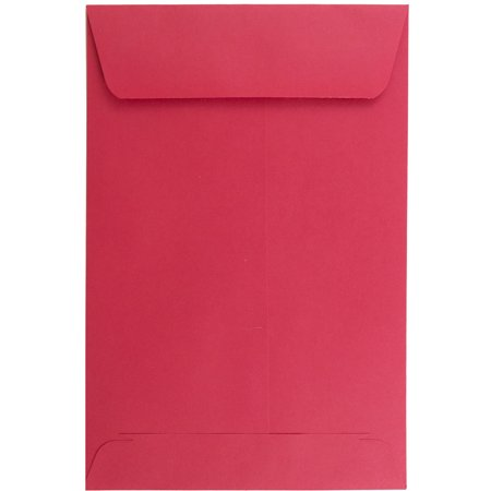 JAM Paper Open End Catalog Envelopes - 6 x 9 - Brite Hue Christmas Red Recycled - 10/pack](Christmas Catalog Request)