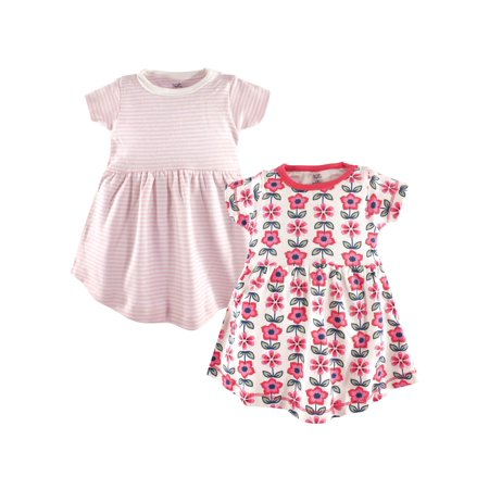 Organic Kimono Dress - Organic Short Sleeve Dresses, 2-pack (Toddler Girls)
