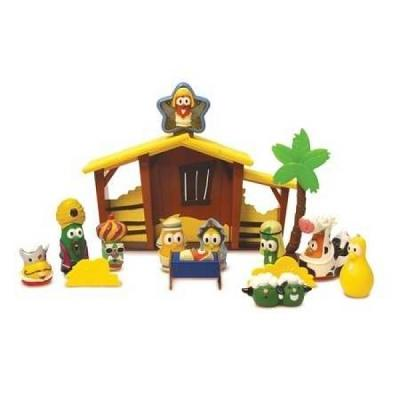 VeggieTales Nativity Play Set by Veggie Tale Toys