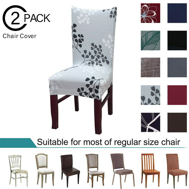 Chair Slipcover Auchen Stretch Printed, Dining Room Slipcovers
