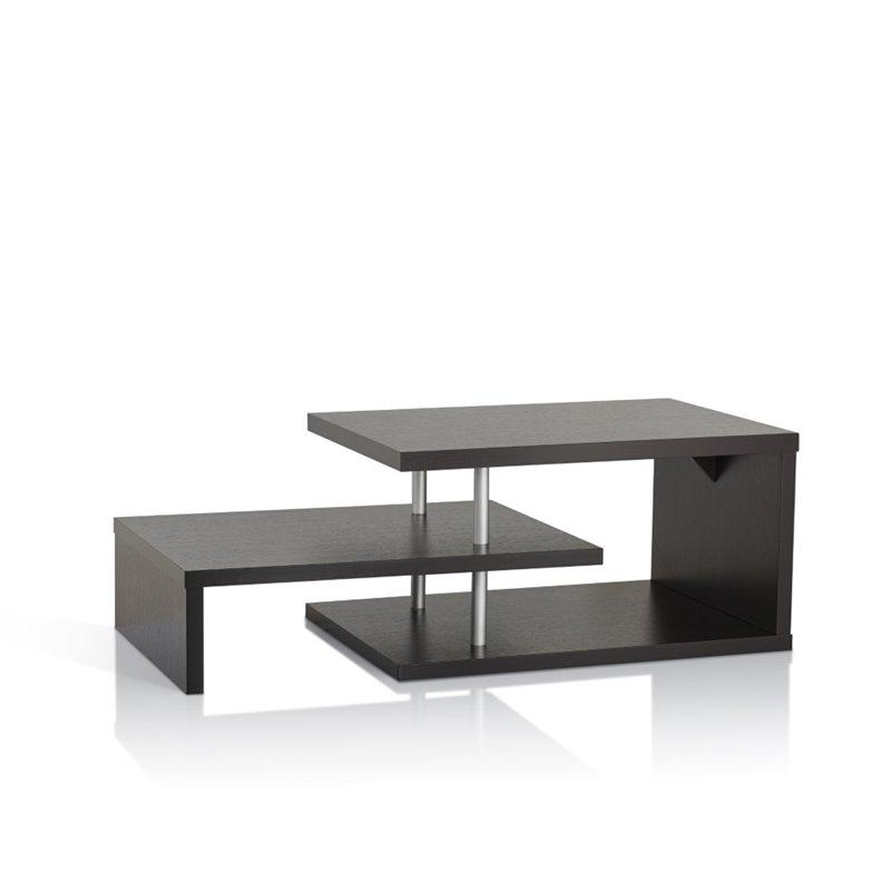 Furniture of America Brockton Coffee Table in Cappuccino