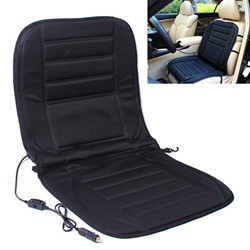 Car Heated Seat Cover Cushion Hot Warmer 12V Heating Warmer Pad Hot Gray Cover Perfect for Cold Weather and Winter... by
