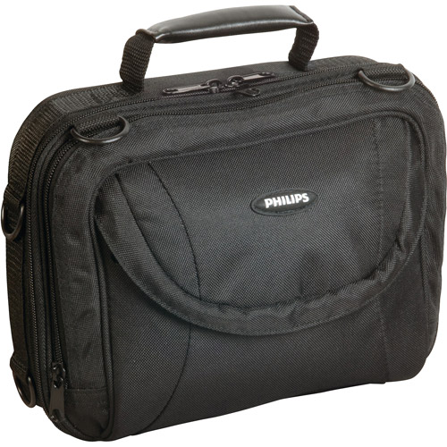 """Philips 7-9"""" Portable DVD Player Bag with Cleaning Kit"""