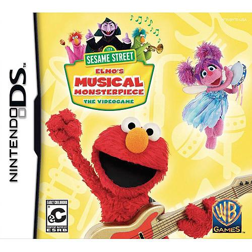 Sesame Street: Elmo'S Musical Monsterpiece (DS)