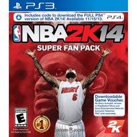 NBA 2K14 Super Fan Pack, 2K, PlayStation 3, 710425473609