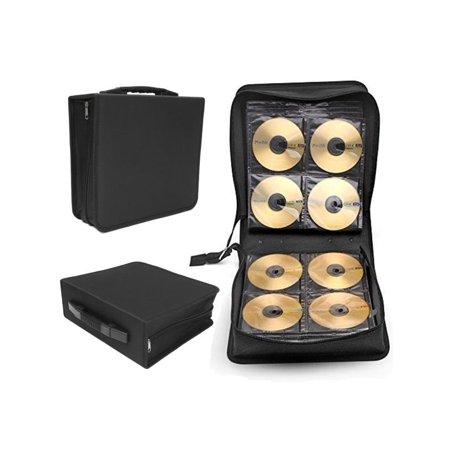 Large 288 Disc CD DVD Box Storage Case Carry Bag Binder Book Sleeves Rack