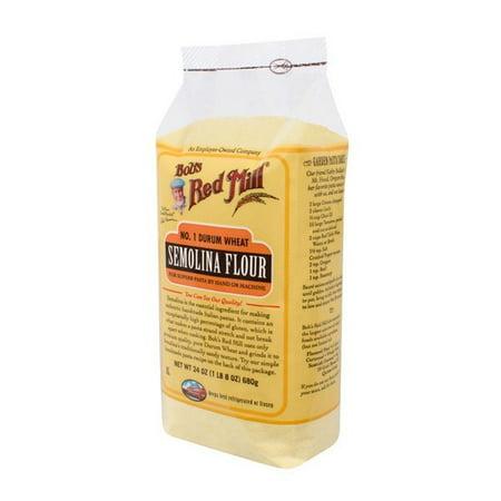 Bob's Red Mill Semolina Pasta Flour - 24 Oz - pack of