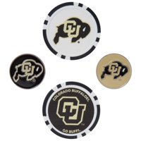 Colorado Buffaloes Ball Marker Set