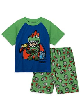 Boys' Fortnite 2 Piece Pajama Sleep Set ( Big Boy)