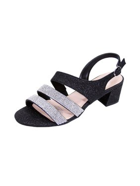 c967cbee2 Product Image FLORAL Dorothy Women Extra Wide Width Chic Rhinestone Straps  Dressy Party Heeled Sandals