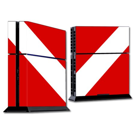 Skin Decal Wrap for Sony PlayStation 4 PS4 Console sticker Scuba