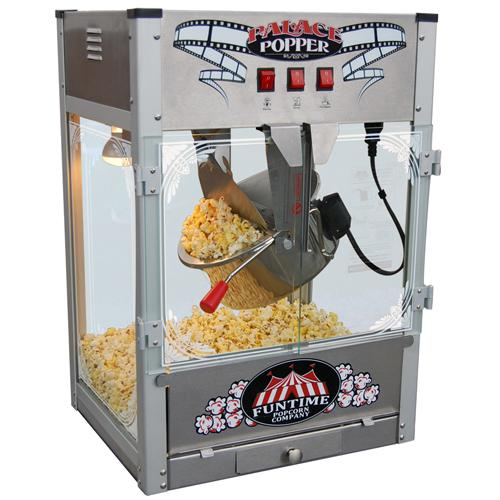 Palace Popper 16 oz Stainless Steel Hot Oil Popcorn Machine