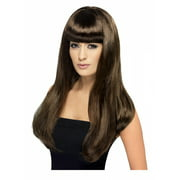 Babelicious Long Costume Wig Adult: Brown