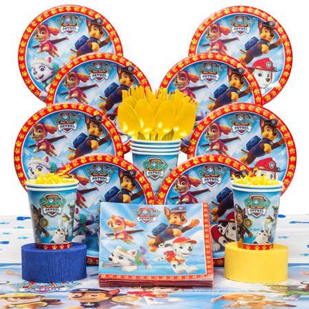 Paw Patrol Deluxe Kit (Serves 8) - Party Supplies](Wonder Woman Party Supplies Deluxe Pack)