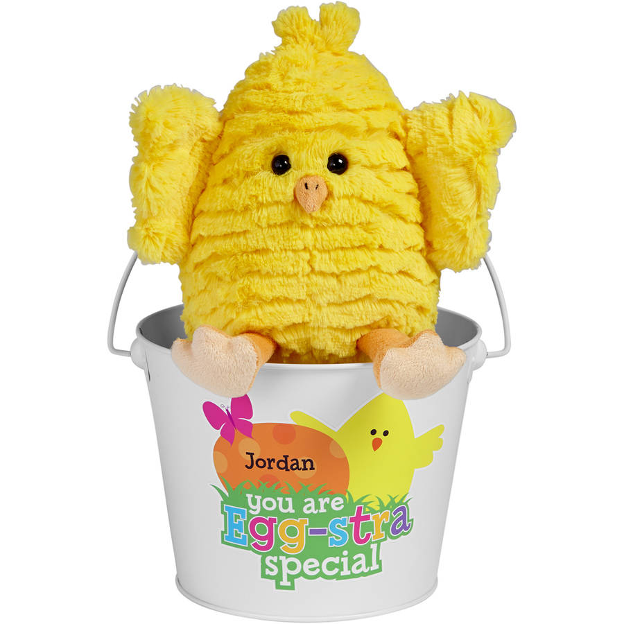 Personalized Egg-stra Cute Chick Bucket