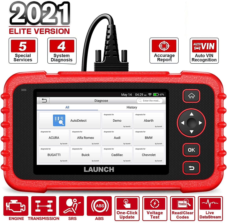 NEW SALE LAUNCH X431 CR529 OBD2 Diagnostic Scanner Code Reader Color Display