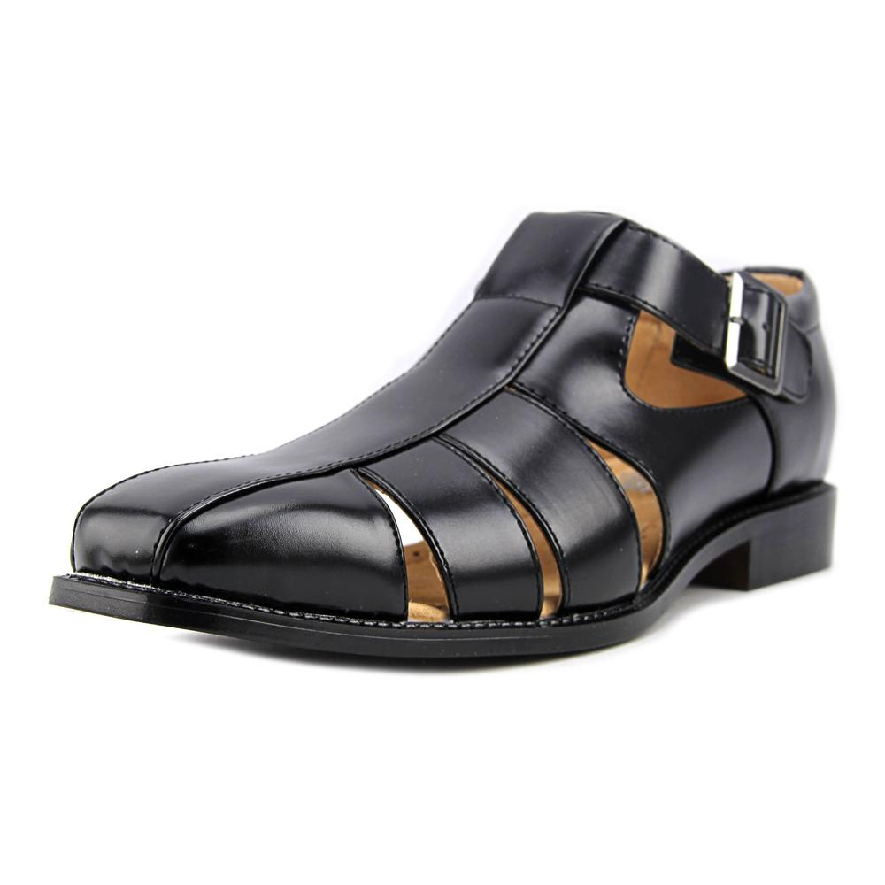 Stacy Adams Calisto Men Open Toe Synthetic Black Sandals by Stacy Adams