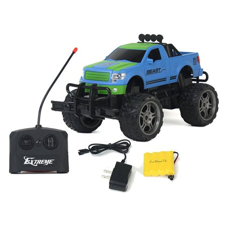 Galloping Phantom Championship Span Defeat Remote Control RC Blue Toy Rally Truck RC Car 1:16 Scale Size Ready To Run