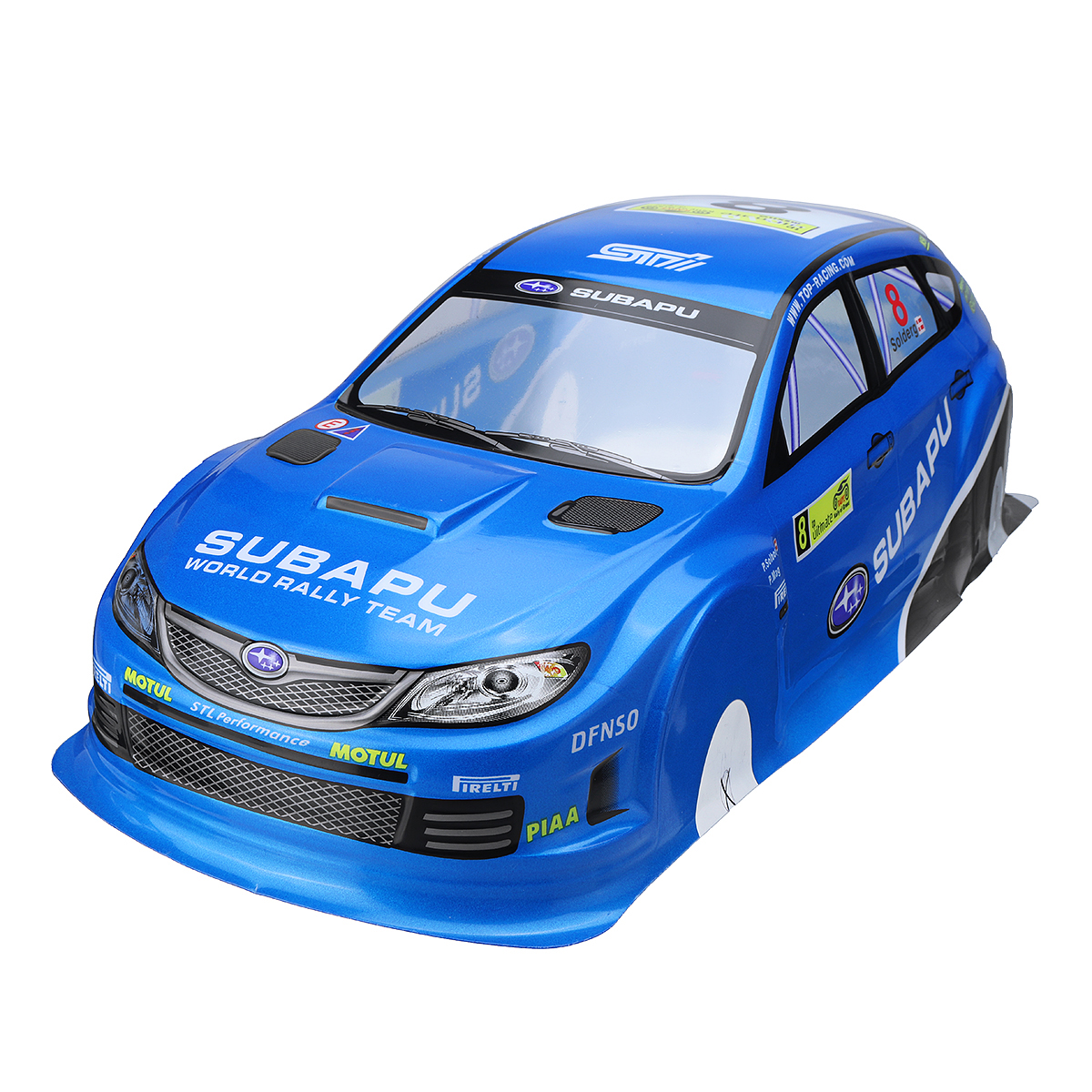 1 10 Scale Rc On Road Drift Car Body Painted Pvc Shell For Subaru Sti X Vehicle Walmart Canada