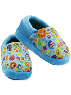 c39cfacd7380 Product Image Bubble Guppies Toddler Boys Girls Plush A-Line Slippers  CH18026