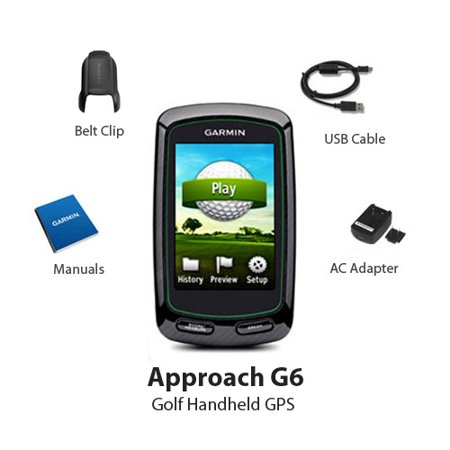 garmin approach g6 handheld golf gps. Black Bedroom Furniture Sets. Home Design Ideas