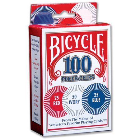 Bicycle Poker Chips, 100ct