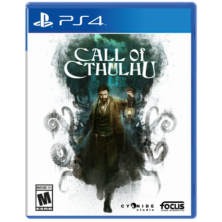 Call of Cthulhu, Maximum Games, PlayStation 4, - Call Center Halloween Games