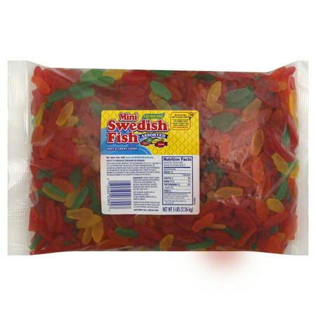 Cadbury Swedish Fish  Candy, 5 lb](Gummy Fish)