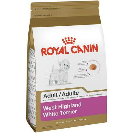 Royal Canin West Highland White Terrier Adult Dry Dog Food, 2.5 lb