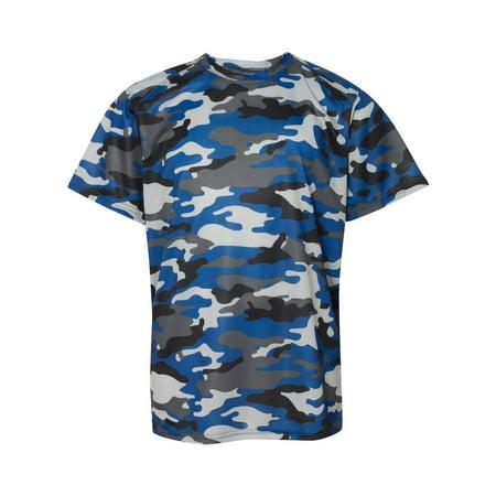 776a010f Badger Youth Camo Short-Sleeve T-Shirt 2181 - Walmart.com