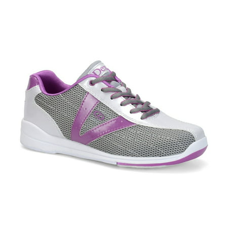 (Dexter Womens Vicky Bowling Shoes - Silver/Grey/Purple)