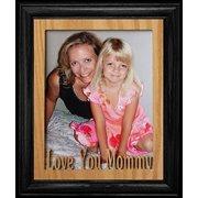 8X10 Love You Mommy Portrait Photo Frame ~ Black Frame ~ Gift For Mom