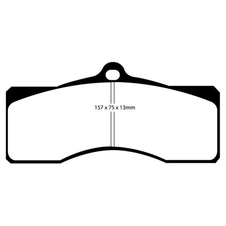 Chevrolet Camaro Brake Hose (EBC 68-69 Chevrolet Camaro (1st Gen) 4.9 Bluestuff Front Brake Pads)