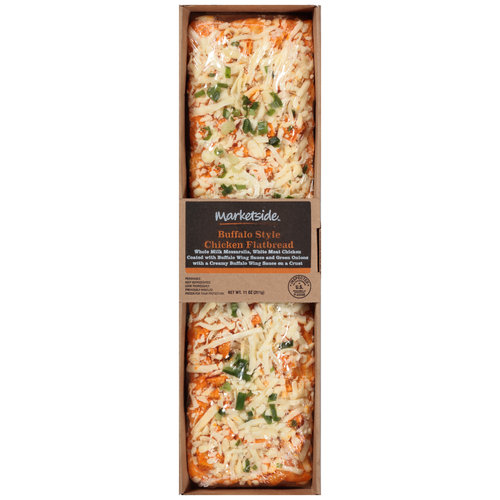 Marketside Buffalo Style Chicken Flatbread, 11 oz