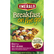 Emerald Breakfast on the Go! Berry Nut Blend Nut & Granola Mix, 5 Pack