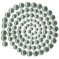 Self-Adhesive Rhinestones 100/Pkg-Blue Gray (Light Green)