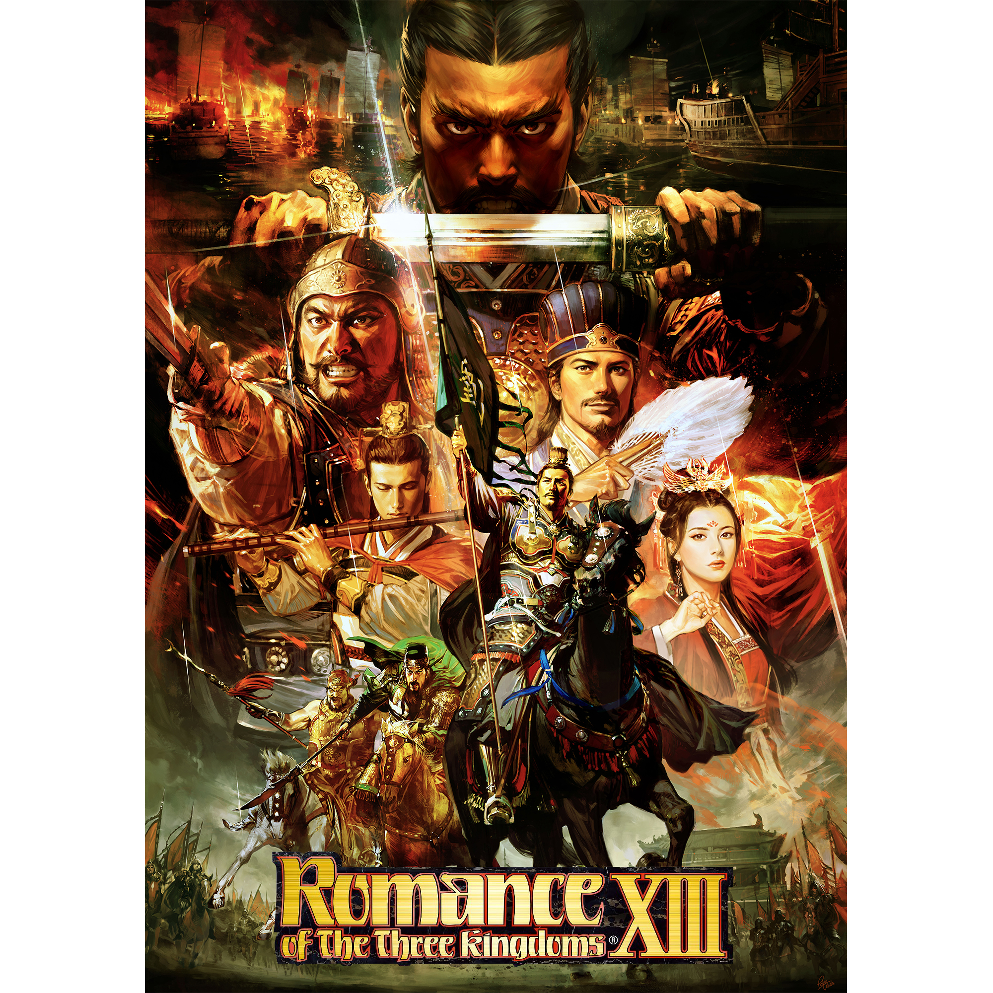 Romance of the Three Kingdoms XIII (PC) (Email Delivery)