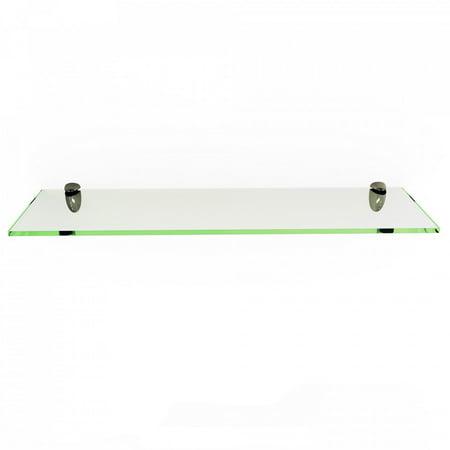 Rectangle Floating Glass Shelf Kit 6