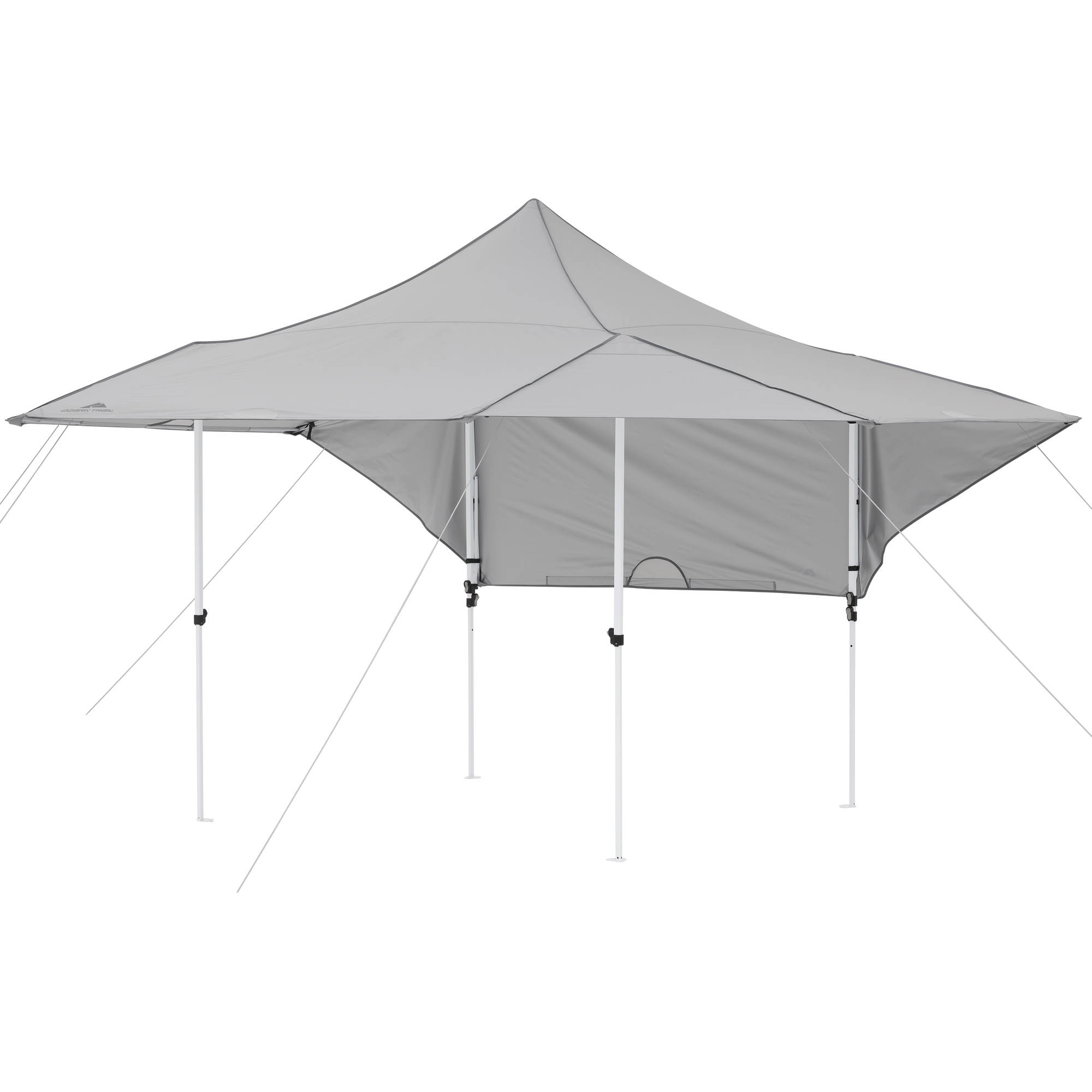 half off ecf77 46f7c Ozark Trail 16' x 16' Instant Canopy with Convertible Walls ...