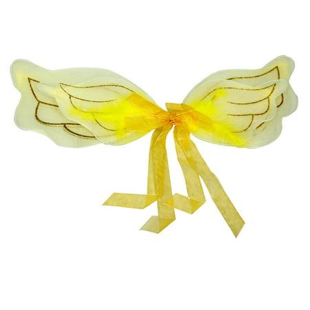 Children's Gold Angel / Cupid Wings