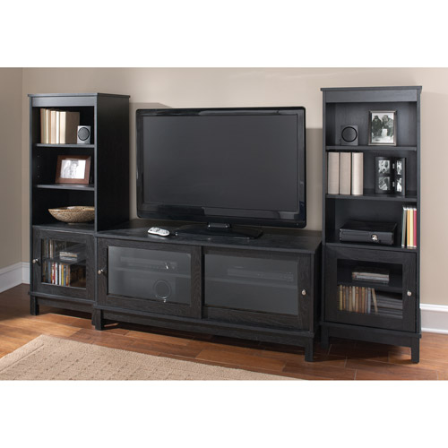 "Mainstays Entertainment Center Bundle for TVs up to 55"", Multiple Finishes"