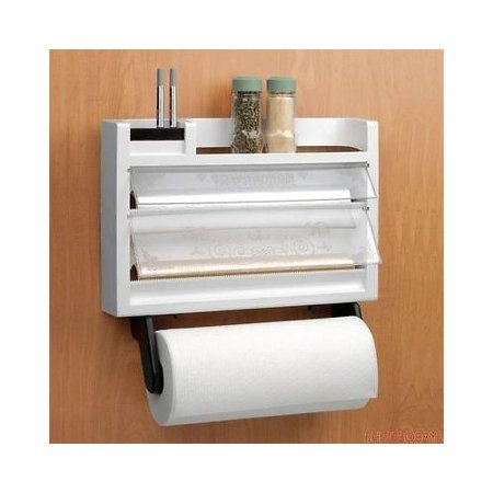 Kitchen 3 In 1 Dispenser Paper Towel Holder Automatic
